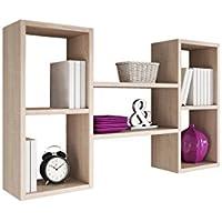 suchergebnis auf f r wandregal sonoma eiche k che haushalt wohnen. Black Bedroom Furniture Sets. Home Design Ideas