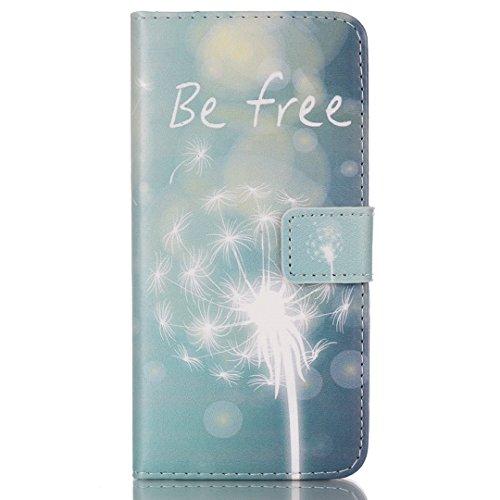 iPhone 6/6S Hülle im Bookstyle, Xf-fly® PU Leder Flip Wallet Case Schutzhülle für Apple iPhone 6/6S (4.7 Zoll) Tasche Handytasche mit Magnetverschluss Kartenfach Standfunktion Muster Handyhülle P-4