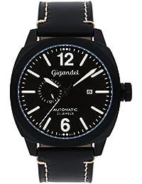 Gigandet G16–003–Uhr für Männer, Lederband schwarz
