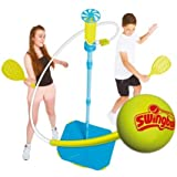 Lite All Surface Swingball Toys for Kids Garden Play Outdoor Tennis Swing Ball Outdoor Garden Activity, Family Tennis Play Set