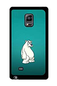 Caseque Herbet P Bear Back Shell Case Cover for Samsung Galaxy Note 4 Edge