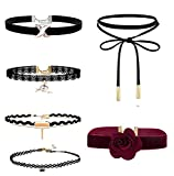 Best Necklaces 6 Piece - Romp Fashion 6 Pieces Stylish Party Ware Choker Review