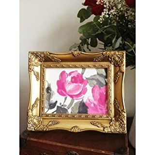 Ornate Vintage Gold Anitque Picture Frame 7x5