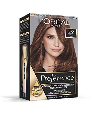 L'Oréal Paris Préférence Coloration Permanente 5.0 Bruges Châtain Clair