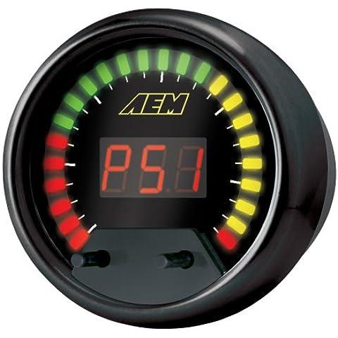 AEM Seriale Datastream Gauge 52mm AFR, EGT, H2O, IAT, knock, volts, RPM, vehicle speed PN: 30-4300