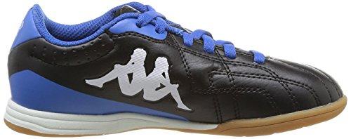 Kappa Soccer Player Ic, Chaussures de sports en salle garçon Noir (914 Black)