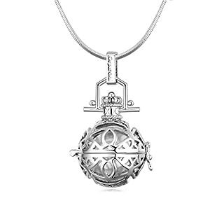 Daesar Schmuck Damenkette Vergoldet Dream Vase Synthetische Kristall Halskette Zirkonia Halskette Anhänger