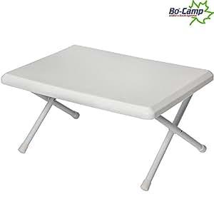 mini tisch mit metallgestell flach faltbar 52x37x22 cm. Black Bedroom Furniture Sets. Home Design Ideas