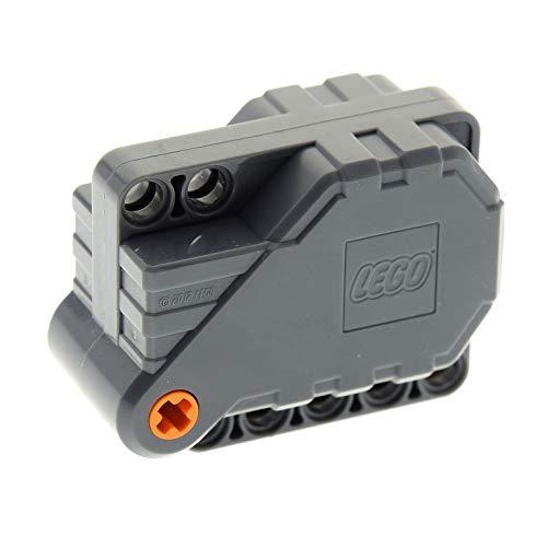 Bausteine gebraucht 1 x Lego Technic Rückzieh Motor dunkel grau 6x5x3 Aufziehmotor Pull Back Set 42033 42034 42047 42059 6024100 12787c01 (Motor Back Pull Lego)