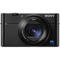 Sony DSCRX100M5 Advanced Digital Compact Premium 4K Camera (EVF, 4K Movie, 40 x Slow Motion, Wi-Fi, 180 Degrees Tiltable LCD Screen, 24 fps) - Black