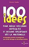 100 idées pour mieux discerner difficultés et besoins spécifiques dès la maternelle par Cabellan