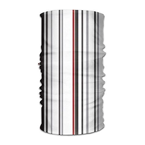 Jolly2T Colorful Stripes Bandanna Headwear Neck Gaiters Variety Scarf Wrap Wide Stripe Beanie