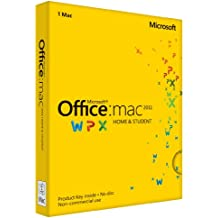 Microsoft Office Mac 2011 Home and Student Key Card
