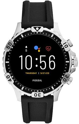 Smartwatch Fossil Garrett HR Gen 5 Silver Black FTW4041