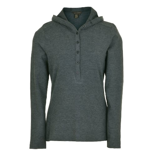 Royal Robbins Heathered Rayon Hoodie carbon