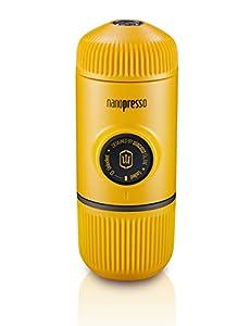 Wacaco Mini Portable Espresso Maker Manual Coffee Maker Nanopresso Yellow