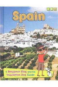 Portada del libro Spain: A Benjamin Blog and His Inquisitive Dog Guide (Country Guides, with Benjamin Blog and His Inquisitive Dog) by Anita Ganeri (2015-08-06)