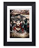 Merlin Cast Signed Autograph Signature Autographed A4 Poster Photo Print Photograph Artwork Wall Art Picture TV Show Series Season DVD Boxset Present Birthday Xmas Christmas (POSTER ONLY)