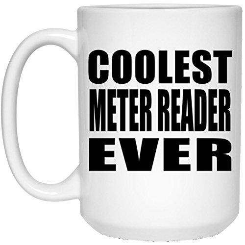 Designsify Coolsten Meter Reader Ever–15oz Kaffeebecher, Keramik Tasse, Beste Geschenk für Geburtstag, Hochzeit, Jahrestag, Neues Jahr, Valentinstag, Ostern, Muttertag/Vatertag
