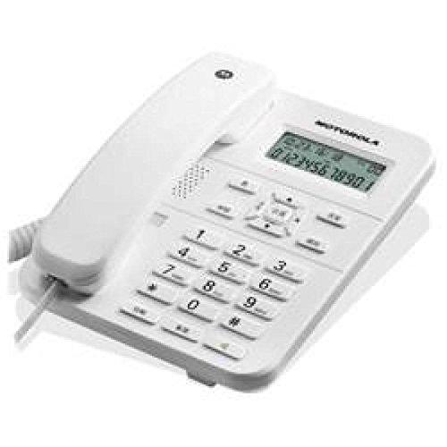 Motorola 107CT202WHITE - Teléfono fijo, color blanco