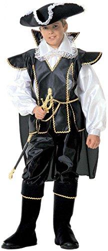 Widmann 37056 - corsaro dei mari costume da, in taglia 5/7 anni