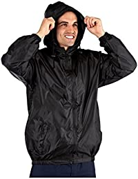 Mens ProClimate Kag In A Bag Festival Coat Waterproof Wind Resistant Jacket  Mac b971e050687ad