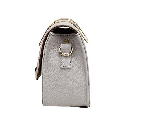 Diagonal-Paket Handtaschen Damenmode Wilde Schultertasche Kette Tasche Handtasche Grey