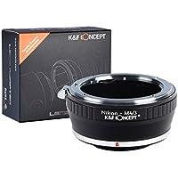 Nikon AI Lente per Micro 4/3, K&F Concept Adattatore di obiettivo per Micro 4/3 M4/3 G1 GH1 GH2 GF1 Olympus Panasonic Camera