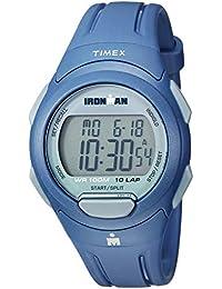 44dedf639dd1 Timex De los Hombres Ironman tw5 m16500 Esencial 10 Azul Marino Gris Correa  ...