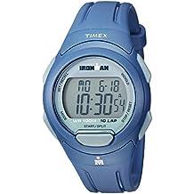 Timex Men's TW5M16500 Ironman Essential 10 Navy/Gray Resin Strap Watch