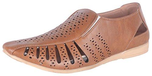 Royal Run Men's Brown Synthetic Sandals (6 UK)