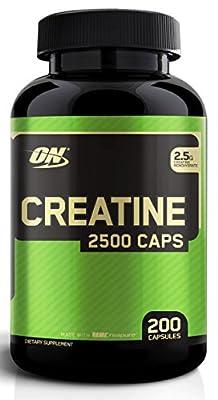 Optimum Nutrition Creatine 2500 Capsules from optimum