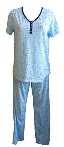 Gabrielle Luxury Nightwear - Ensemble de pyjama - Femme Bleu