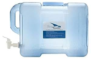 Bluewave BPA-freier 3 US Gallon (ca. 11.36 Liter) wiederverwertbarer tragbarer Wasserkühlkanister