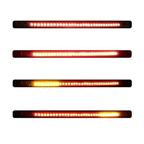 Excelvan 12V 32LED Indicatori Moto Luci, Segnale di Svolta, Luce Striscia