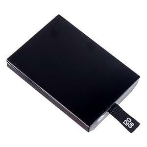 XBOX 360 Slim 120GB HDD Hard Drive Disk Festplatte Speichererweitung Internal Schwarz