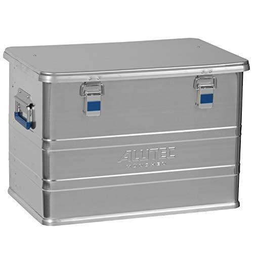 Alutec Transportkiste Comfort 73 - Aluminium Box 73 Liter mit Deckel verschließbar
