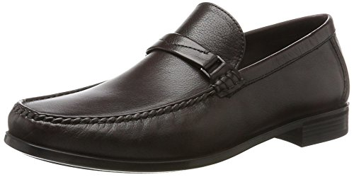 Ecco Herren Dress Moc Mokassin Braun (Fudge)
