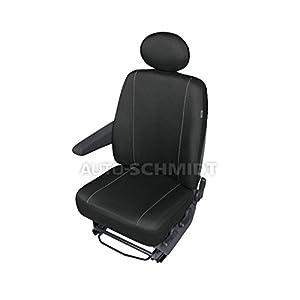 ZentimeX Z737098 Sitzbezüge Fahrersitz / Einzelsitz Armlehne rechts Stoff schwarz