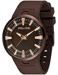 Police De los hombres Dakar Analógico Casual Cuarzo Reloj PL14197JSBN-12