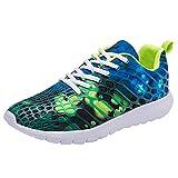 Herren Sneaker,ABsoar Atmungsaktive Laufschuhe Mesh Freizeitschuhe Mode Sportschuhe Bequem Flache Schuhe Skateboard Schuhe Joggingschuhe für Outdoor
