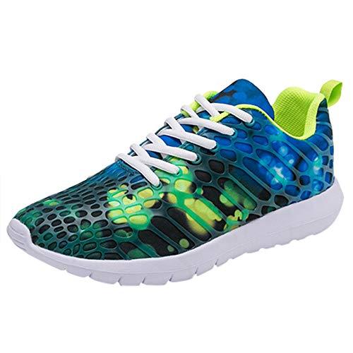 CUTUDE Herren Damen Barfußschuhe Fitnessschuhe Laufschuhe Minimalistische Traillaufschuhe Trekkingschuhe Wanderschuhe Outdoor Sneaker im Sommer (Grün, 39 EU)
