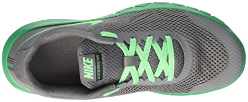 Nike Flex Experience 5 Gs, Scarpe da Corsa Bambino Grigio (Cool Grey/Electro Green/Stadium Green/Black)