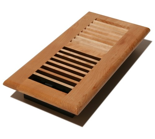 Decor Grates WML410-N 4-Inch by 10-Inch Wood Floor Register, Natural Maple by Decor Grates