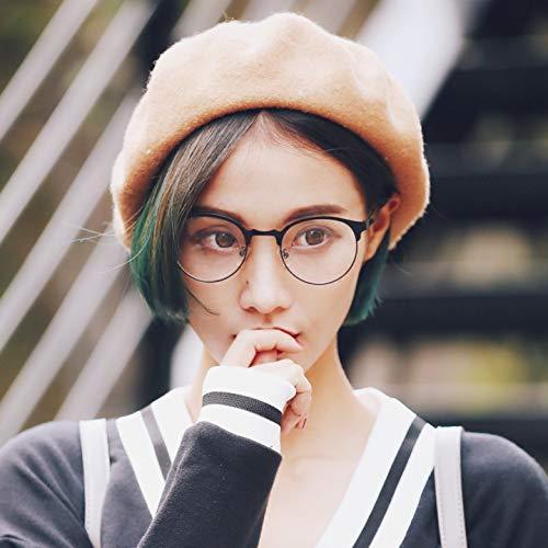 Han Ban belebt alte Bräuche weiblicher Brillenrahmen rundes Gesicht Flut von Literatur Metall Person Stil Brille männliche Brillen für Near Sight Frame 100 nehmen