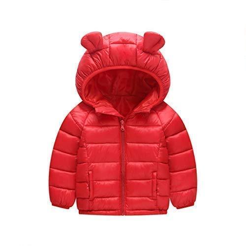 Kinder Daunenjacke mit Kapuze Winter Mäntel Jungen Madchen Schneeanzüge Outfits 2-3 Jahre