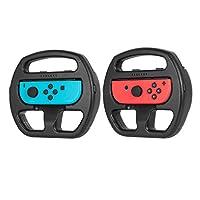 Nintendo Switch Wheel Mario Kart, Keten Switch Steering Joy-Con Wheel for Nintendo Switch Games (2 Pack)