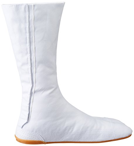 Chaussures Ninja Jikatabi (Bito) 12 Clips Importe du Japon (Marugo) Blanc