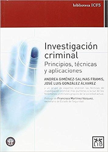 Investigación criminal (biblioteca ICFS)
