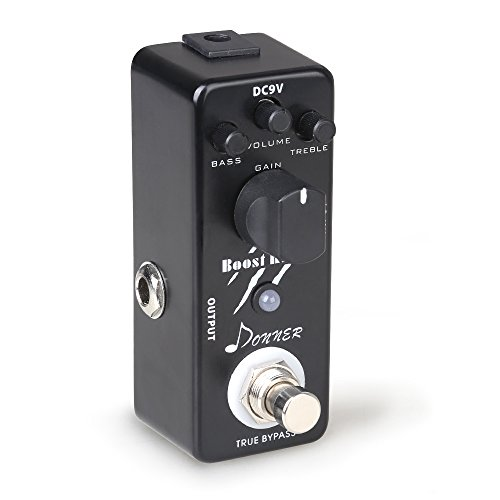 Donner Boost Killer Gitarre Effektpedal True Bypass -